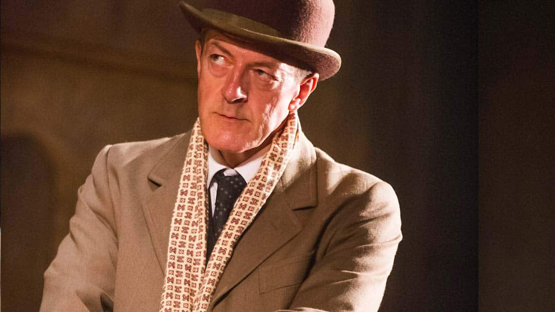 Malcolm James as Arthur Kipps in The Woman in Black
