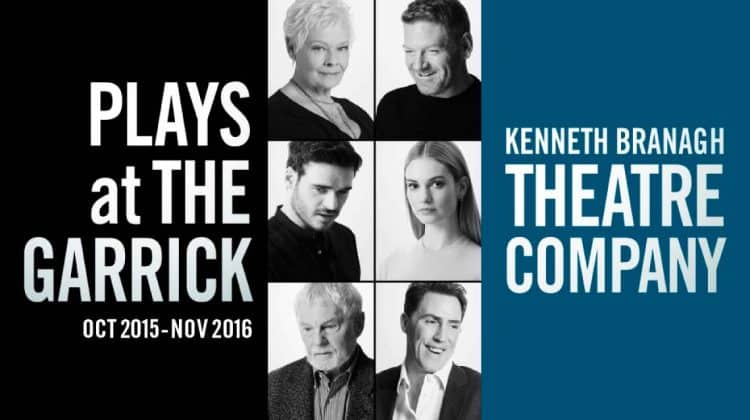 Plays at The Garrick| Kenneth Branagh Season