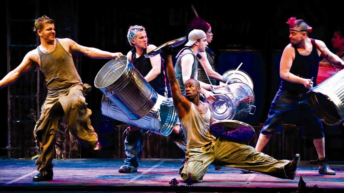Stomp | Stomp at the Ambassadors Theatre