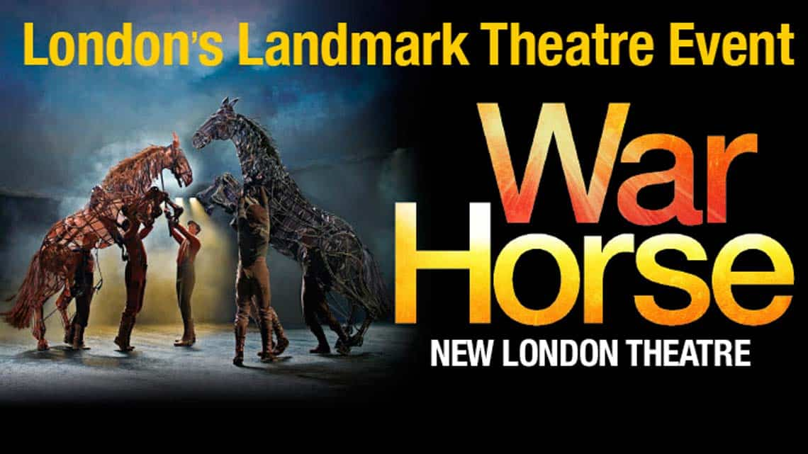War Horse | New London Theatre | War Horse at the New London Theatre