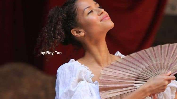 Gugu Mbatha-Raw | Nell Gwynn | Shakespeare's Globe Theatre | Photo: Roy Tan