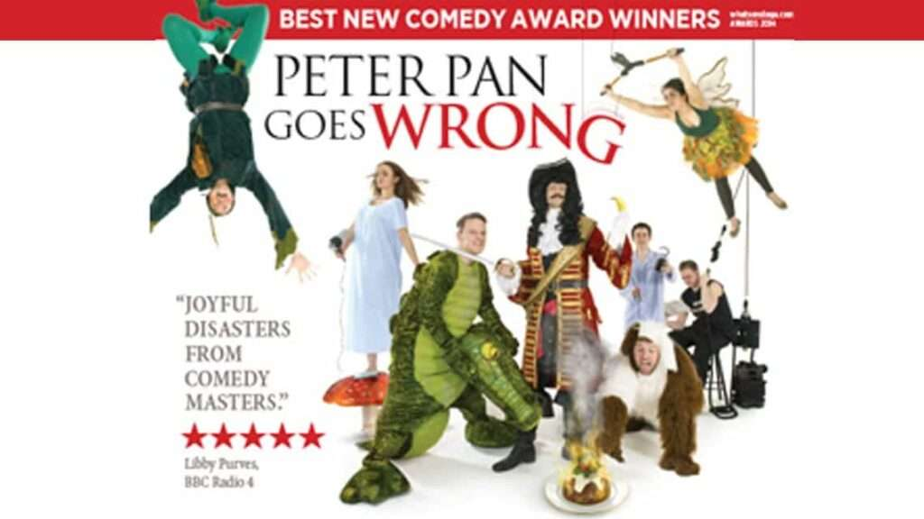Peter Pan Goes Wrong | Christmas 2015 | Apollo theatre