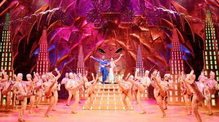 Disney's Aladdin - Broadway production