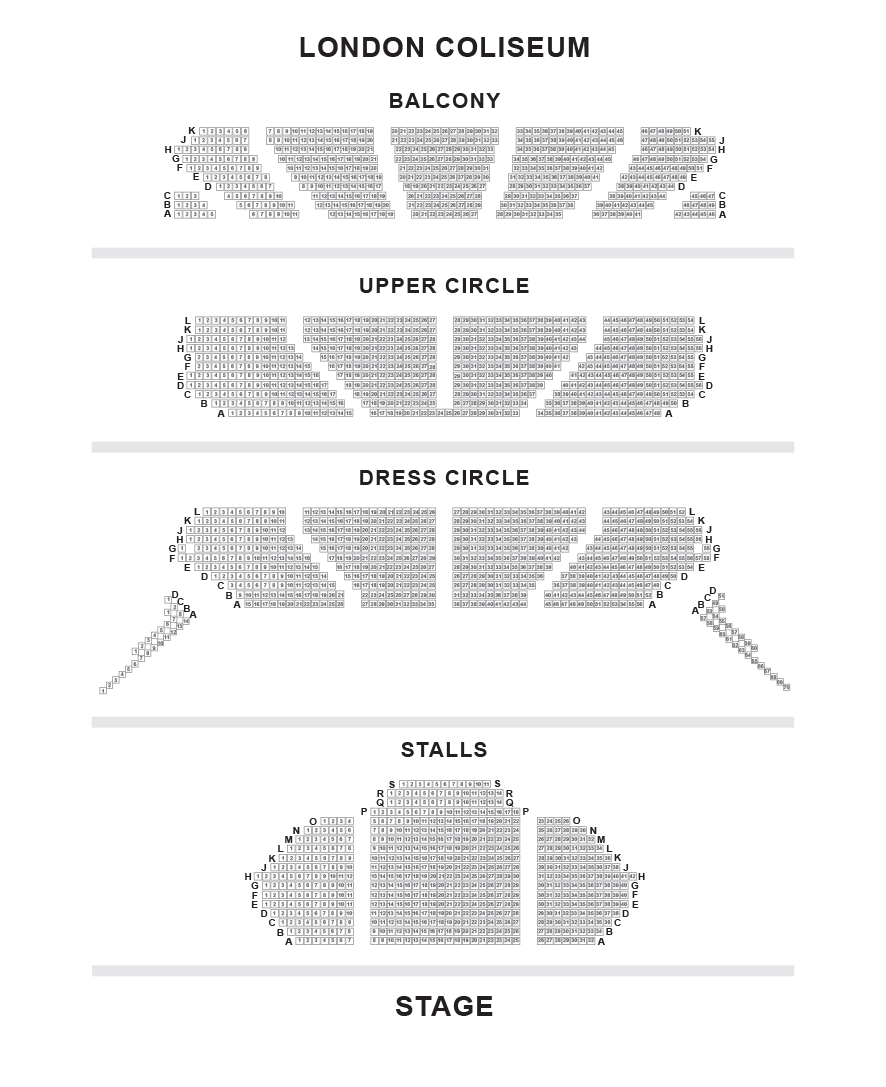 London Coliseum Seating Plan