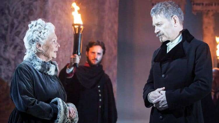 Judi Dench & Kenneth Branagh in The Winter's Tale | Photo: Johan Persson