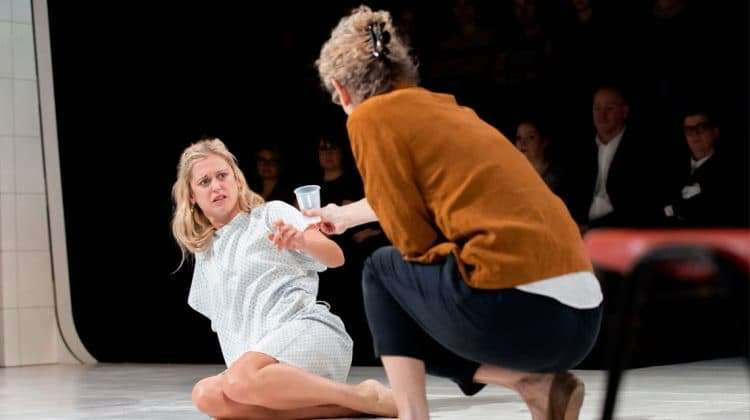 Barbara Marten  & Denise Gough in People, Places & Things | Photo: JohanPersson