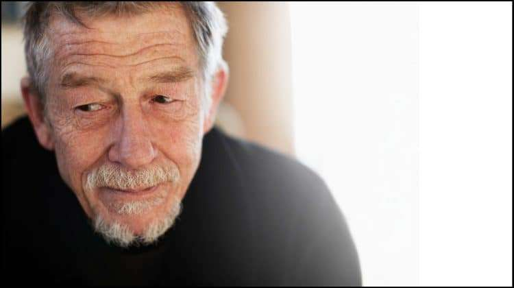 John Hurt  returns to the stage in The Entertainer