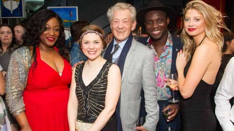Ian McKellen and cast of Show Boat | Show Boat opening night | Photo credit: Dan Wooller