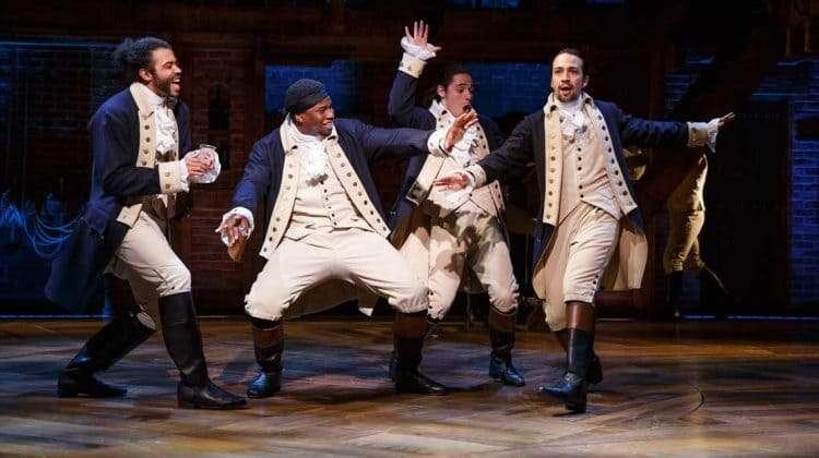 Hamilton Broadway |Photo Joan Marcus