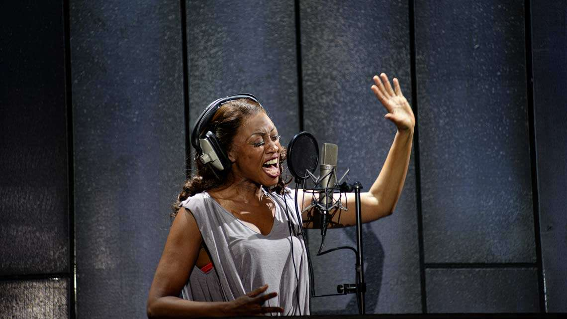 Beverley Knight in The Bodyguard| Dominion Theatre | © Alessandro Pina